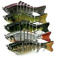 1 stk Hard Agn / Sluk Hard Lokkemat Random Colors 15.4 g Unse mm tommers,Hard Plastikk Søfisking / Ferskvannsfiskere