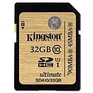 Kingston 32Go carte SD carte mémoire UHS-I U1 Class10
