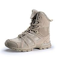 Shoestar R Men's Uniform/ Tactical Boots/Trail Running Shoes Nylon / Fleece / Black / Khaki