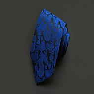 Gravata ( Azul , Poliéster ) Estampado