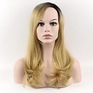 nejnovější paruka dlouhé vlasy - lady hruška černého zlata kroutí načechraný šikmá ofina paruka paruka vysokoteplotní hedvábí