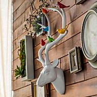 Animais Poliresina Moderno/Contemporâneo Interior Acessórios decorativos