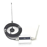 LCD Display Mini GSM 900MHz Mobiltelefon Signalforstærker, GSM signal forstærker + Antenne med 10m kabel
