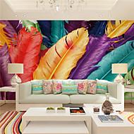 Art Deco / 3D Pozadina Za kuću Suvremena Zidnih obloga , Canvas Materijal Ljepila potrebna Mural , Soba dekoracija ili zaštita za zid
