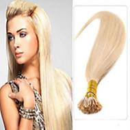 extensão do cabelo de fusão 100% de extensão real do cabelo pre-ligado cabelo reto i ponta extensões de cabelo cabelo cor múltipla vara