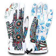 Ski Gloves Full-finger Gloves Women's / Men's Activity/ Sports GlovesKeep Warm / Anti-skidding / Waterproof / Windproof / Snowproof /