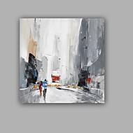 Ručně malované Abstraktní Krajina olejomalby,Klasický Realismus Jeden panel Plátno Hang-malované olejomalba For Home dekorace