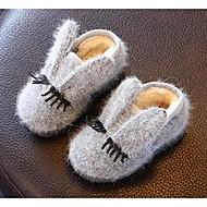 Fille Bébé-Décontracté-GrisConfort-Bottes-Polyester