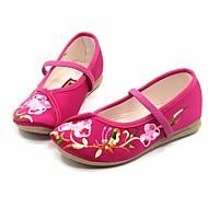 Rasos-MaryJane Light Up Shoes-Rasteiro-Rosa Vermelho Fúcsia-Seda-Casual