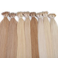 neitsi 20 '' rette nano ring lenker human hair extensions 25g / lot 1g / s 100% remy hår