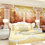 Décoration artistique / 3D Fond d'écran pour la maison Rétro Revêtement , Toile Matériel adhésif requis Mural , Chambre Wallcovering