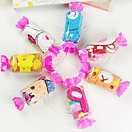подарок на день рождения конфеты форма волокна творческий полотенце (случайный цвет)