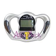 Cintura / Parte Superior do Braço Analisador de Gordura Corporal Manual Apresentação LCD / Apresentação da Hora Bateria Plastic