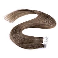 neitsi 20 '' 40g / pak m-tape in human hair extensions straight 100% remy huid inslag 5a hoogwaardige kwaliteit