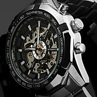 Men's The Classic Styles Of Men's Fashion Leisure Luminous Hollow Automatic Mechanical Watches