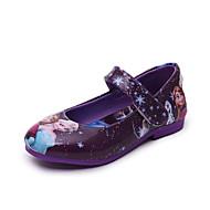Tyttöjen Sandaalit laahustaa saappaat Välkkyvät kengät Comfort PU Kevät Syksy Talvi Kausaliteettilaahustaa saappaat Välkkyvät kengät