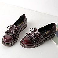 Feminino-Oxfords-ConfortoPreto Vinho-Courino-Casual
