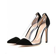 Egyéb-Stiletto-Női cipő-Magassarkúak-Irodai Alkalmi Party és Estélyi Ruha-Gyapjú Bőrutánzat-Fekete Rózsaszín Állatmintás Világoszöld