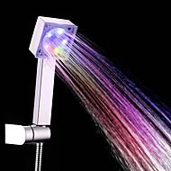 Moderne Håndbruser Krom Feature for  LED Miljøvenlig , Brusehoved