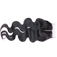 8-20inch 4x4 Middle Part Lace Closure Wavy Remy Hair Closure Medium Brown Swiss Lace gram Cap Size Natural Hairline Unprocessed Brazilian Virgin Hair