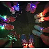 Mode für Männer Frauen Licht LED-Schnürsenkel Partei leuchtenden Nacht laufen Schnürsenkeln Club Highlight leuchtende Spitze nach oben