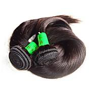 인도 레미 헤어 레미 인모 붙임머리 가발 스트라이트/일자 레미 인간의 머리카락 되죠