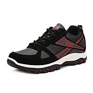 Kényelmes-Lapos-Női cipő-Sportcipők-Szabadidős-PU-Kék Sárga Fekete és vörös