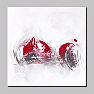 Maalattu Abstrakti Pop öljymaalauksia,Moderni European Style 1 paneeli Kanvas Hang-Painted öljymaalaus For Kodinsisustus