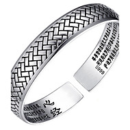 Bracelet Bangles S999 Sterling Silver Others Fashion Birthday Gift Jewelry Gift Silver1pc