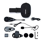 vnetphone mærke 5 fodbolddommer intercom 1200m motorcykel bluetooth intercom fuld duplex intercom headset med armbind dommer samtaleanlæg