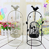 2pc Wholesale Iron Wedding Candlestick Creative Wedding Party Desktop Decorations Candlestick Valentine's day Decorations