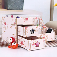 caixa de desktop de madeira criativo