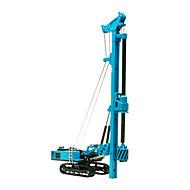 רכב בנייה צעצועים צעצועים רכב 1:60 מתכת ABS פלסטיק חום צעצוע בניה ודגם
