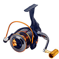 Fishing Reel Spinning Reels 2.6:1 16 Ball Bearings Exchangable General Fishing-XF6000