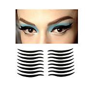 Oční víčko Others Suché Dlouhotrvající Přírodní Black Fade Eyes