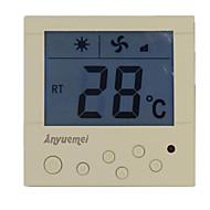 hvid klimaanlæg termostat til at varme termostaten