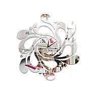 Модерн Повседневный Прочее Цветы и растения Персонажи Музыка Настенные часы,Новинки Акрил Применение Часы