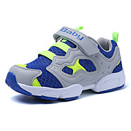Para Meninos-Tênis-Conforto-Rasteiro-Azul Verde Vermelho-Flanelado Tule-Ar-Livre Casual Para Esporte