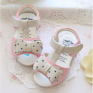 Girls' Baby Sandals Comfort Leather Athletic Casual Outdoor Running Comfort Beige Blue Blushing Pink Flat