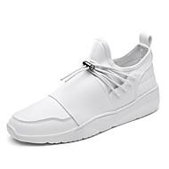 Muškarci Sneakers Proljeće Ljeto Jesen Zima Udobne cipele Mikrovlakana Aktivnosti u prirodi Ležeran Atletika Ravna potpeticaVezanje