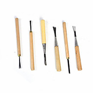 Handmade Engraving Knife Woodworking Engraving Knife Alloy Steel Knife Set (6pcs 1 Set)