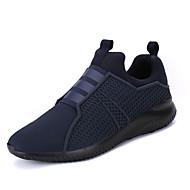 férfi cipők kényelmes sportos cipő lapos sarkú gore / bebújós fekete / piros / kék divat walking