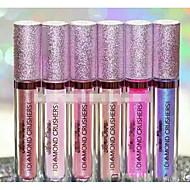Gloss Rouges à Lèvres Humide Baume Gloss coloré Couverture Longue Durée Naturel