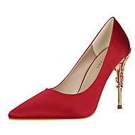 Women's Heels Spring Fall Comfort Silk Dress Stiletto Heel