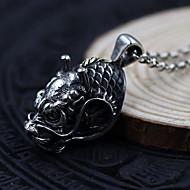 Pánské Dámské Náhrdelníky s přívěšky Řetízky Límeček Šperky Stříbro Jeden pruh Šperky Základní design Retro Stříbrná ŠperkyPárty