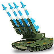 רכב צבאי צעצועים צעצועים רכב 01:50 מתכת ABS פלסטיק ירוק צעצוע בניה ודגם