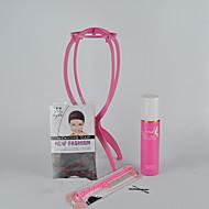 Suporte para Peruca Touca para Peruca Clips Escovas & Pentes para Perucas Acessórios Para Peruca Ferramentas perucas de cabelo