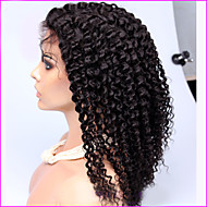 250 % 밀도 브라질 변태 곱슬 레이스 프런트 가발 흑인 여성을위한 곱슬 곱슬 전체 레이스 인간의 머리 가발 아프리카