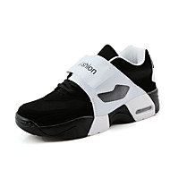 Unisex Athletic Shoes Spring Fall Other Tulle Outdoor Athletic Casual Flat Heel Magic Tape Black Red Gray Other