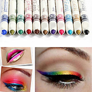 12Pcs/Lot  12 Color Eyeliner Pencil Eye Shadow Pen Eye Liner Lip Liner Eye Shadow Pencil Pen Waterproof
